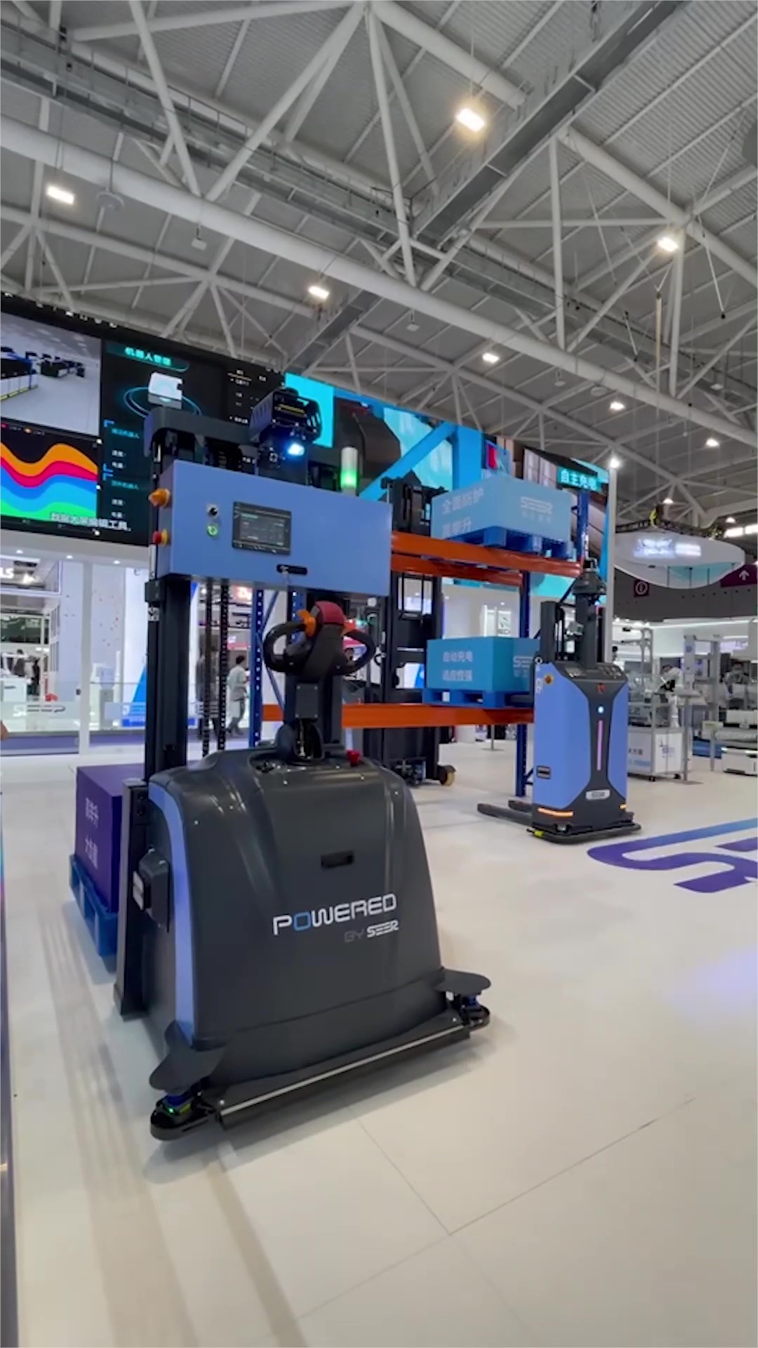 NO.3丨 SEER in ITES CHINA, Multi-robots Scheduling Makes Handling Easier