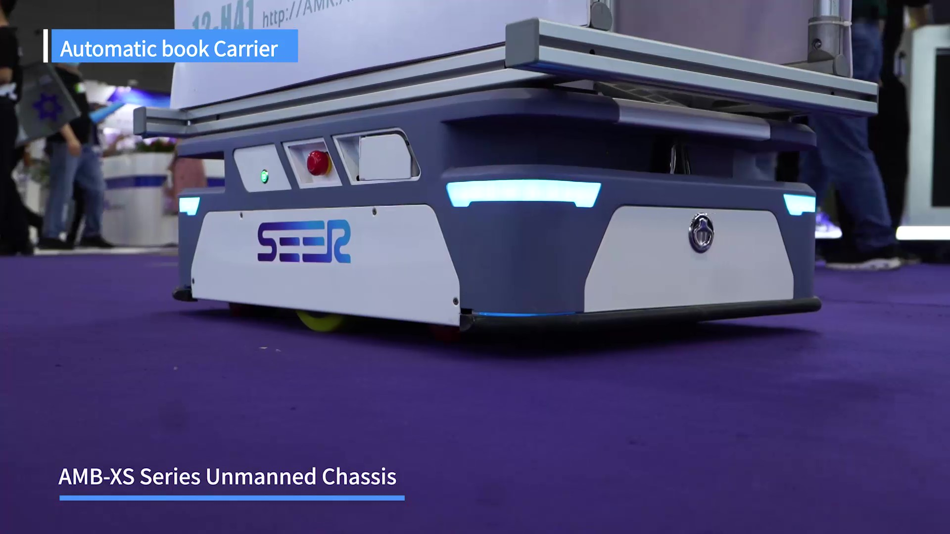 Automatic Book Carrier